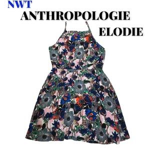 "🆕Anthropologie ""Elodie"" Floral Dress, Size M"